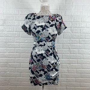 Topshop Floral Wrap Dress 6
